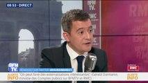 """Gérald Darmanin: """"J'ai l'impression que Laurent Wauquiez devient un militant du parti communiste"""""""