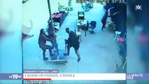 Buzz : Regardez cette vidéo devenue virale d'un homme qui s'envole en tenant un parasol - Vidéo