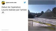 La Pyramide du Louvre fête ses 30 ans : l'artiste JR lui a concocté une surprise