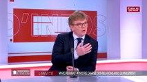 Relation Larcher/Ferrand : « Il n'y a pas de bouderie » affirme Marc Fesneau