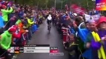 Les spectateurs fous du cyclisme !