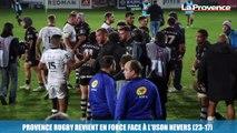 Provence Rugby revient en force face à l'Uson Nevers (23-17)