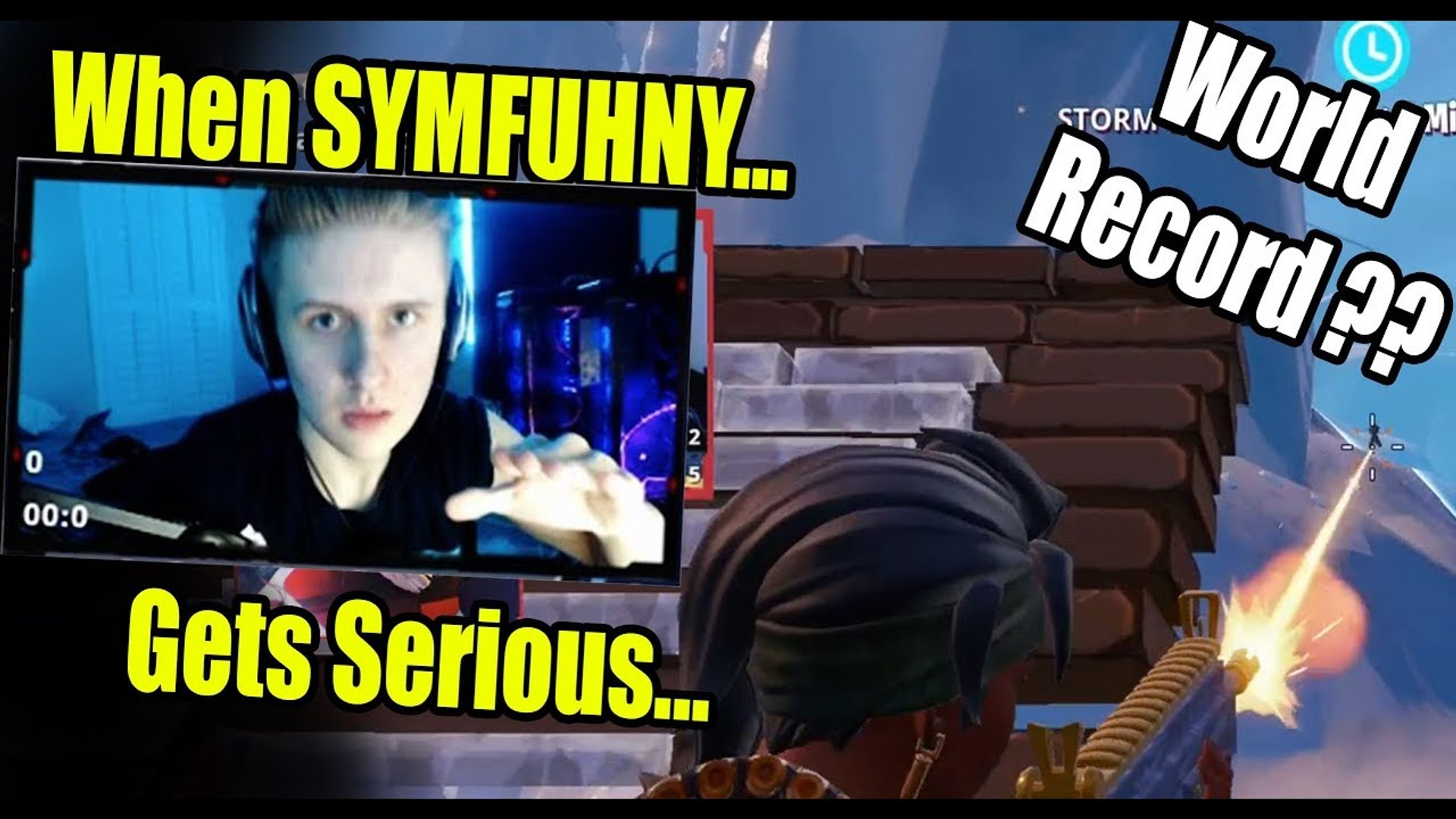 This Is What Happens When SYMFUHNY Tries To Play Seriously | Fortnite  Moments