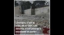 Yvelines: Le mur de la prison de Poissy s'est effondré