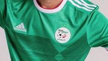 Adidas dévoile les nouveaux maillots de l'Algérie pour la CAN 2019