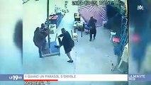 Buzz : Regardez cette vidéo devenue virale d'un homme qui s'envole en tenant un parasol
