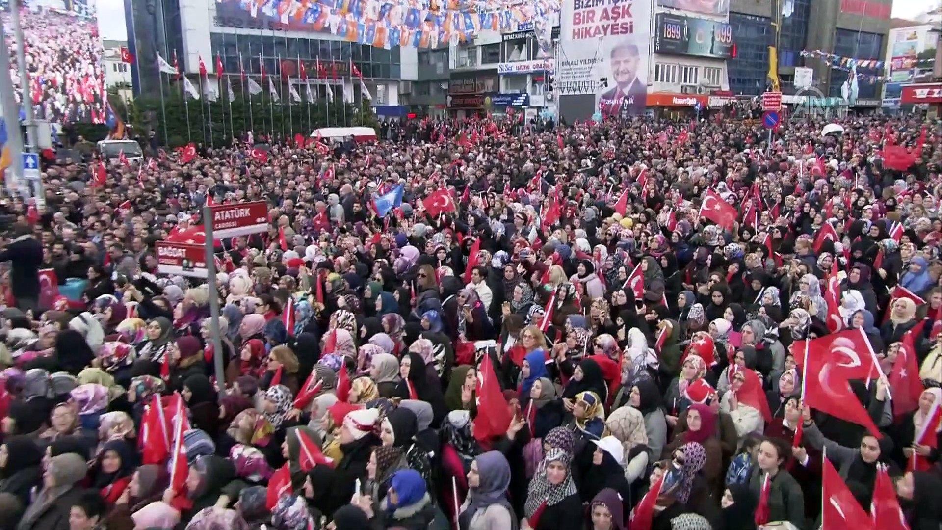 Cumhurbaşkan Erdoğan: Bu karanlık ittifakın, Ne Türkiye'ye ne İstanbul'a ne de Maltepe