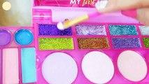 Mon Premier Jeu de Maquillage pour les Enfants Et la Tête à coiffer Barbie Riesige Barbie-Puppe Set de Maquillage Jeu de riasan