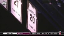 Basket-Ball - NBA - Manu Ginobili Gets His 20 Jersey Retired in San Antonio  March 28 2019