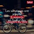 Loi Mobilités: 6 apports du Sénat qui auront un impact sur les usagers du vélo