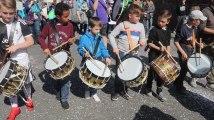 La Louvière : carnaval des enfants à Baume - Tambours
