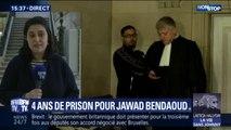 Jawad Bendaoud condamné à quatre ans de prison en appel