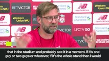 (Subtitled) Officials must stop match says Klopp over racist abuse