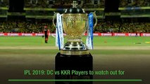DC vs KKR IPL 2019 Match 10 Preview: High-scoring encounter on the cards as big hitters face-off