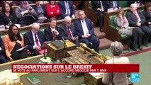 REPLAY - Discours de Theresa May devant le Parlement, avant le troisième vote sur l'accord du Brexit