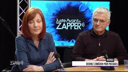 Juste Avant de Zapper - Vendredi 30 mars - Lilyane Beauquel / Pierre Théobald