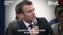 Emmanuel Macron et l'égalité femmes-hommes en entreprise