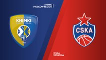Khimki Moscow region - CSKA Moscow Highlights | Turkish Airlines EuroLeague RS Round 29