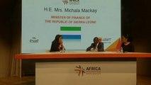 Afrique, LES INVESTISSEMENTS EN SIERRA LEONE PROMUS