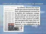 Una carta anónima de Spanair acusa a la ministra de Fomento de avivar las sospechas hacia la compañía
