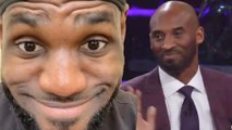 LeBron James RESPONDS To Kobe Bryant Calling Himself The GOAT & Lakers WARN Him About Body Language