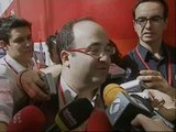 Miquel Iceta y Leire Pajín, con posibilidades de entrar en la nueva Ejecutiva del PSOE