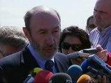 """Rubalcaba: """"Aquí no se amparan las torturas"""""""