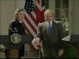 Bush y Gordon estudian aumentar las sanciones a Irán