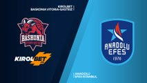 KIROLBET Baskonia Vitoria-Gasteiz - Anadolu Efes Istanbul Highlights | EuroLeague RS Round 29