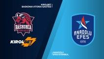 KIROLBET Baskonia Vitoria-Gasteiz - Anadolu Efes Istanbul Highlights | EuroLeague RS Round 29