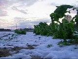 Una fuerte granizada provoca importantes destrozos en cultivos de Gerona
