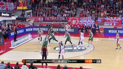 EuroLeague 2018-19 Highlights Regular Season Round 29 video: Olympiacos 68-72 Zalgiris