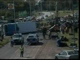 Al menos 18 muertos y 47 heridos en Argentina al chocar un tren y un autobús