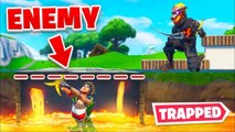 Trapping Enemies UNDERGROUND In Lava | Fortnite Moments