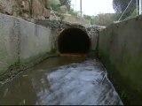 Una tubería que suministra agua a Barcelona pierde 216.000 litros al día