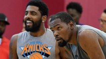 Kevin Durant & Kyrie Irving Talking EVERYDAY As NBA Insiders Are CONVINCED KD is Heading To Knicks