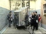 Un estudiante de diseño de Hong Kong crea una casa sobre una bicicleta