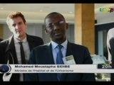 ORTM/Visite du Ministre de l'habitat et de l'urbanisme , Mohamed Moustapha SIDIBE à la banque mondiale