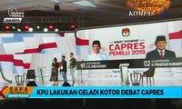 Jelang Pelaksanaan Debat Keempat Pilpres 2019, KPU Lakukan Gladi Kotor
