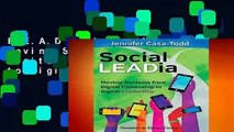 R.E.A.D Social LEADia: Moving Students from Digital Citizenship to Digital Leadership