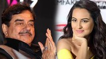 Sonakshi Sinha reacts over Shatrughan Sinha Congress Joining | FilmiBeat