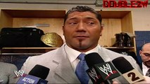 Batista Responds to Melina's Sexual Harassment Claims - 1-6-2006 Smackdown