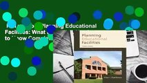 Full version  Planning Educational Facilities: What Educators Need to Know Complete