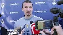 LA Galaxy star Zlatan Ibrahimovic on possible return for Portland game