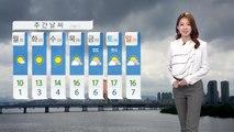 [날씨] 전국 곳곳 비·눈 오락가락...내일, 오늘보다 추워요 / YTN