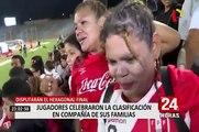 Sudamericano Sub -17: jugadores de la 'bicolor' festejaron clasificación en compañía de sus familias