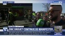 Éric Drouet annonce que des rassemblements sont prévus tout le mois d'avril