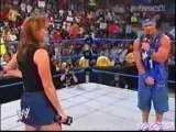 WWF WWE Divas - Stephanie McMahon & John Cena