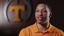 """Tennessee basketball star Grant Williams on his upbringing and being a """"nerd"""""""