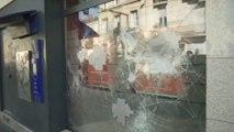 Premiers dégâts à Bordeaux dans la manifestation des gilets jaunes